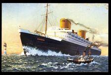 NORDDEUTSCHER LLOYD BREMEN H. Navigation Action 1936 Hapag-Lloyd NDL REEDEREI
