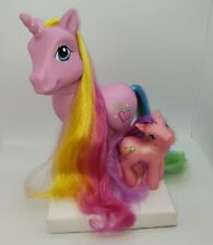 My Little Pony G3 2005 Styling Big Gorgeous Pink Rarity Unicorn Skywishes Lot