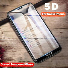 Full Screen Protective Tempered Glass Film For Nokia 5.1 6.1 7 Plus 2 3 5 6 2018