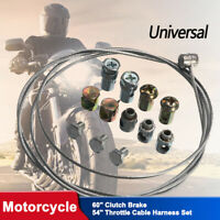 Universal Throttle Clutch Cable Repair Kit Motorcycle MX Off Road Motorbike