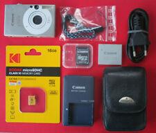 Schöne Canon IXUS 70 Zubehörpaket SAMSONITE-LederTasche 16GB-micro-SD-Karte *C19