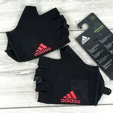 adidas Essen Mens Training Gloves Gym Workout All Sizes Black Red D133