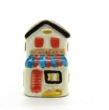 1979 SCHMID GLAZED PORCELAIN THIMBLE THE MAKERY SHOP