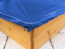 Sandkastenabdeckung Plane für Sandkasten  200x200cm Blau NEU & OVP
