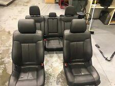 09-14 Ford F150 Platinum Crew Cab Black Leather Seats Interior Heated Cooled OEM