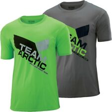Arctic Cat Men's Race Team Moisture-wicking Breathable T-Shirt - Green Gray