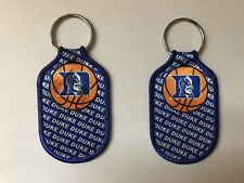 Lot Of 2 Vintage Duke Blue Devils Basketball 1994-95 Keychains