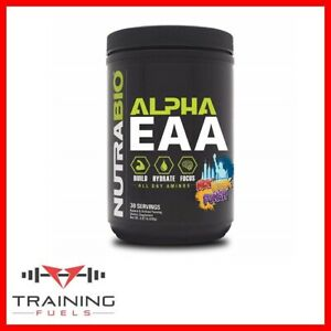 Nutrabio Alpha EAA Amino Acids Hydration & Focus 30 Servings BCAA