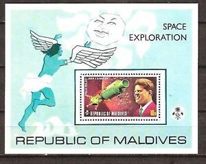 MALDIVES # 479 MNH SPACE EXPLORATION U.S.& U.S.S.R.