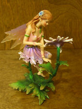 Faerie Glen Faeries FG839 ASTERIA,  2005 Flower Coll. NEW/Box From Retail Store
