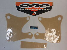 One Industries Graphics Kit Clear Protector Yamaha YZ426 YZ250 YZ400 WR250 WR400