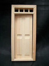 Half Scale 1:24 Door 4-Panel  Dollhouse wooden #H6001 miniature Houseworks