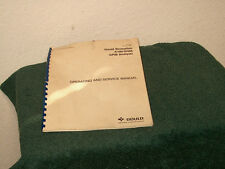 Gould Biomation Manual K100 D/488 GP1B analyzer, operating and service manual