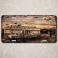 LP0144 Vintage Old Classic Car Sign Auto Car License Plate Rust Home Decor