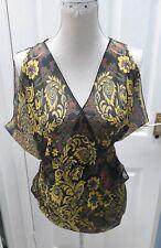 Multi wear Beautiful summer beach wear one size will fits S/M Bikini Cover up...