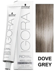 Schwarzkopf Professional IGORA ROYAL ABSOLUTES SILVERWHITE Color Creme - 60ml