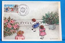 JEUX LA MARELLE   FRANCE CPA Carte Postale Maximum  Yt 2584 C