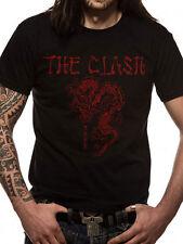 The Clash - Dragon T-shirt Black Small Tshirt