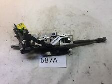 08-12 HONDA ACCORD STEERING COLUMN FLEX SHAFT RACK W/ IGNITION UNIT OEM 687A S.