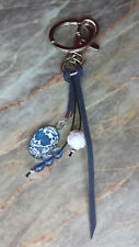 Schlüsselanhänger, Taschenanhänger Blumenranke Nr. 2, Geschenk handgefertigt