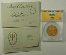 1880-S Liberty Gold Eagle Ten Dollar $10 Coin ANACS AU-50 Details JMX