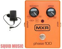 MXR M107 Phase 100 Effects Pedal 10 Stages Of Programmable Phase (POWER SUPPLY)