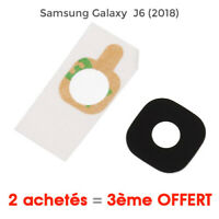 Samsung Galaxy J6 2018 Vitre lentille cache camera arrière glass lens back rear