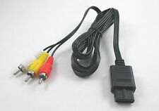 USA SELLER Nintendo 64 N64 AV Cable RCA Composite Cable