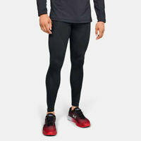 Under Armour Mens Cold Gear Reactor Run Tights Bottoms Pants Trousers Black