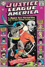 Justice League of America Comic Book #47, Dc Comics 1966 Fine+