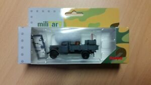 Herpa 746373 - 1/87 Ford 917 T Flatbed With Field Kitchen Wehrmacht - New