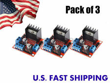 Dual H Bridge DC Stepper Motor Drive Controller Module Arduino L298 (pack of 3)