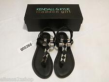 Kendall & Kylie Madden Girl Feliice Blk shoes Sandals 7 M NEW Womens juniors ^^