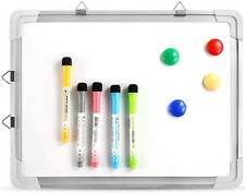 Dry Erase White Board Magnetic Portable Hanging Whiteboard Easel Drawing for Kid