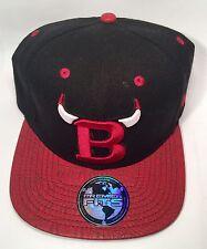 Chicago Bulls Custom Snapback Premium Fits Leather Strapback Snapback Jay Z Era