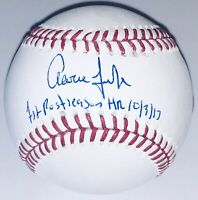Aaron Judge Autograph New York Yankees Signed MLB Auto Baseball FANATICS #46/99