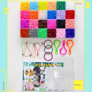 13000 pcs 2.6 mm Perler Kit Fuse Hama Iron Beads 24 Colours Educational DIY Toy