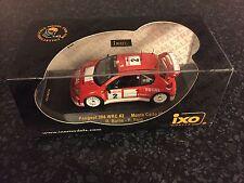 PEUGEOT 206 WRC RICHARD BURNS RALLYE MONTE CARLO 2003 IXO RAM 101 RALLY