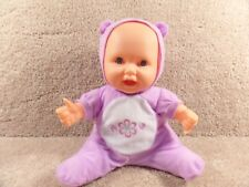 """Takmay Battery Baby Little Doll Dreams Jiggles & Dreams And Giggles Laughs 12"""""""