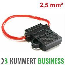 KFZ-Sicherungshalter ATC ATO IP56 WASSERDICHT 2,5mm² bis max. 40A Flachsicherung