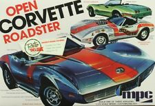 MPC 1:25 Open Corvette Roadster Plastic Model Kit #842