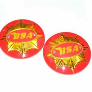 BSA Gold Star Petrol Fuel Gas Badge Emblem Decal Set ECs