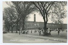 Public School Carroll Iowa RPPC