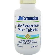 NEW LIFE EXTENSION MIX TABLETS MULTIVITAMINS DAILY DIETARY SUPPLEMENT BODY CARE