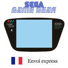 Ecran en VERRE Sega Game Gear GLASS Screen Noir Black [Vitre remplacement GG]