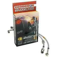 GOODRIDGE stainless steel BRAKELINES BRAKE LINES KIT 89-91 EF CIVIC W/ REAR DRUM