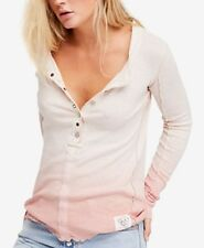 NWT Free People Cozy Up Henley top Retail $68