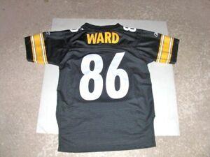 Pittsburgh Steelers HINES WARD fully sewn Football Jersey youth Medium