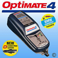 OptiMate 4 - with Can-Bus lead included UK Supplier & Warranty 2018 NEW