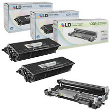 LD Compatible Brother TN650 & DR620 Set of 3 Cartridges (2 Toners & 1 Drum)